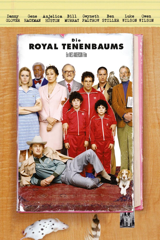 """Plakat von """"Die Royal Tenenbaums"""""""
