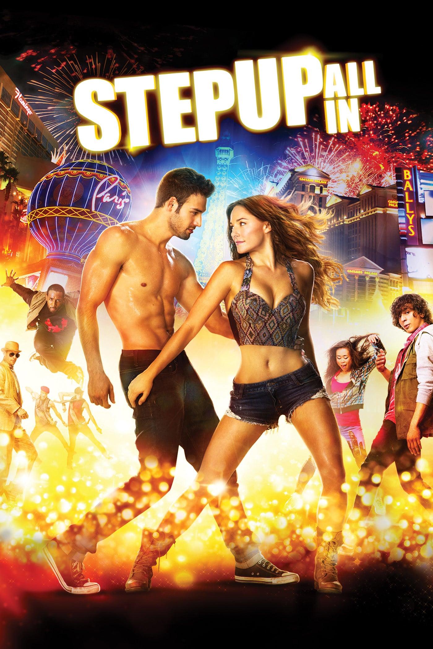 """Plakat von """"Step Up All In"""""""