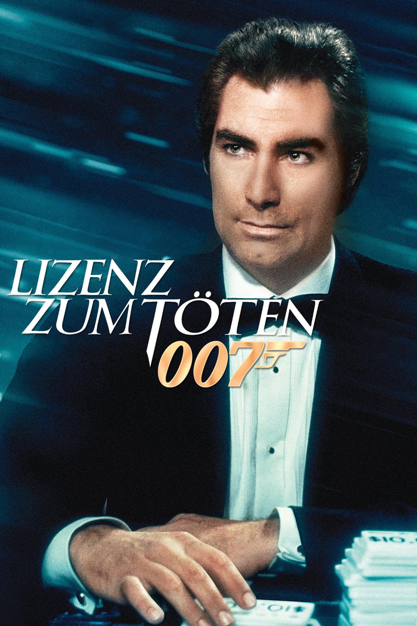 """Plakat von """"James Bond 007 - Lizenz zum Töten"""""""