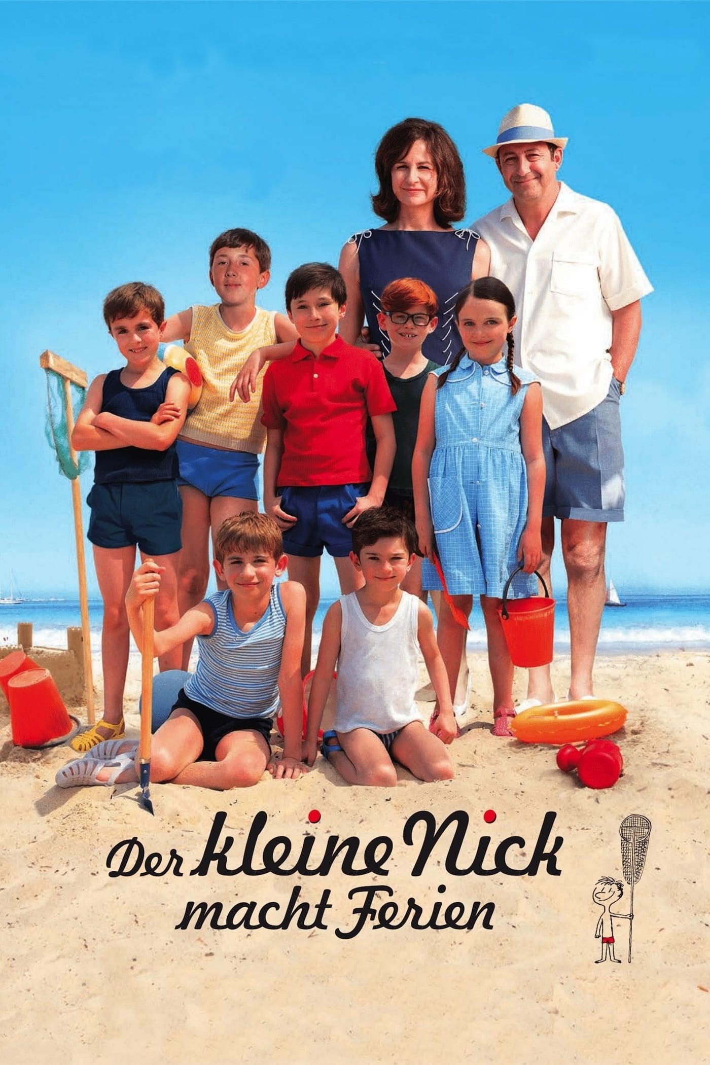 """Plakat von """"Der kleine Nick macht Ferien"""""""