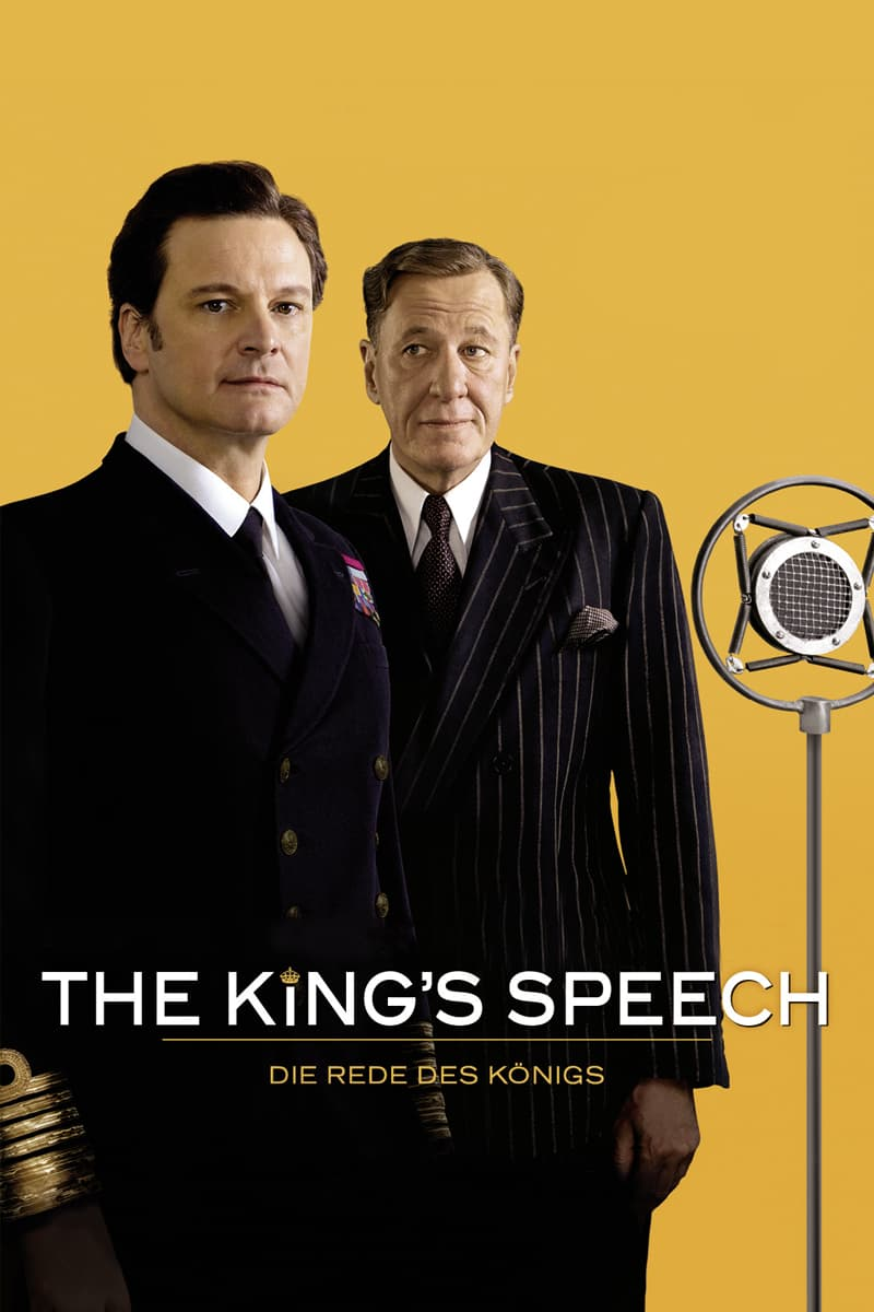 """Plakat von """"The King's Speech - Die Rede des Königs"""""""