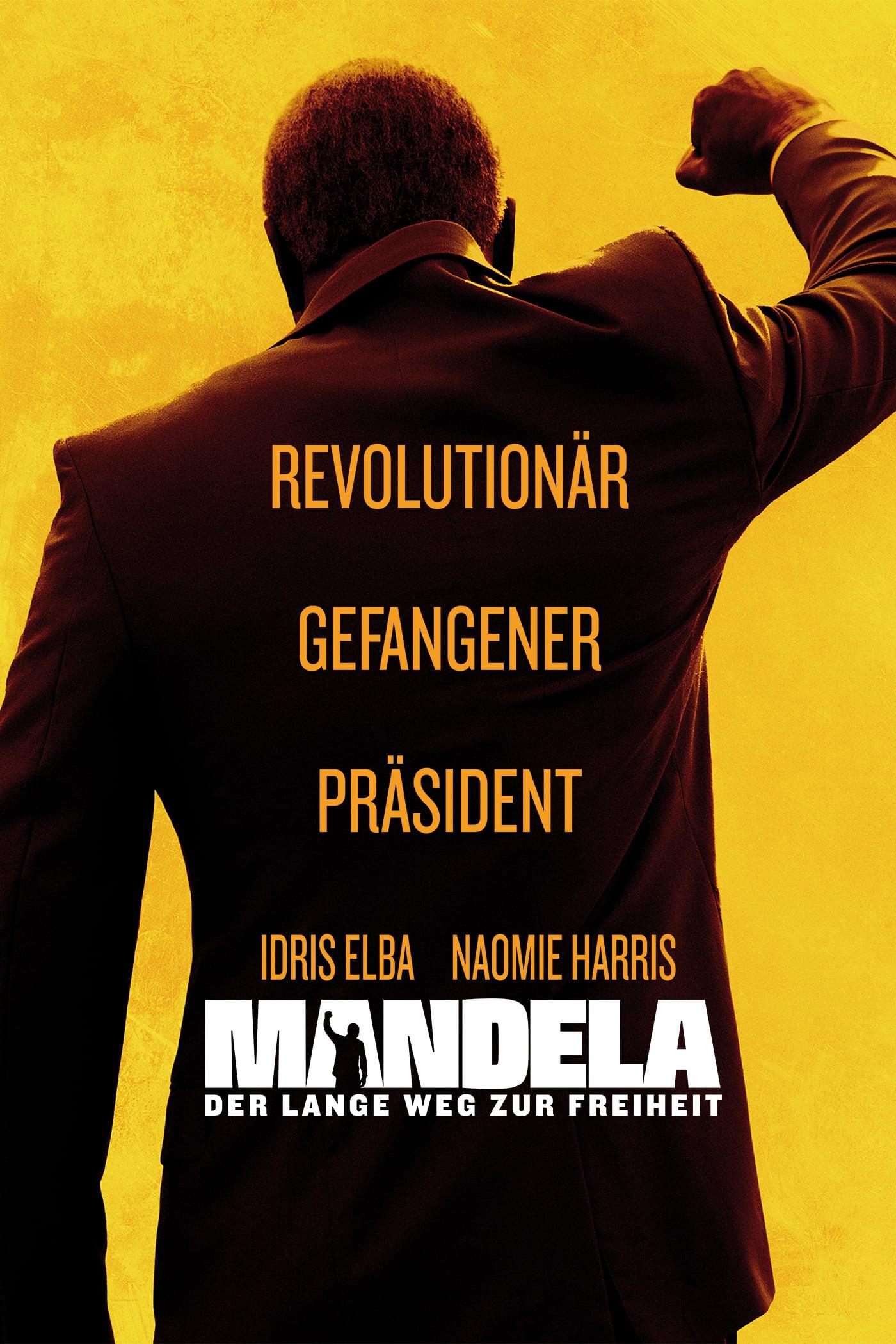 """Plakat von """"Mandela - Der lange Weg zur Freiheit"""""""