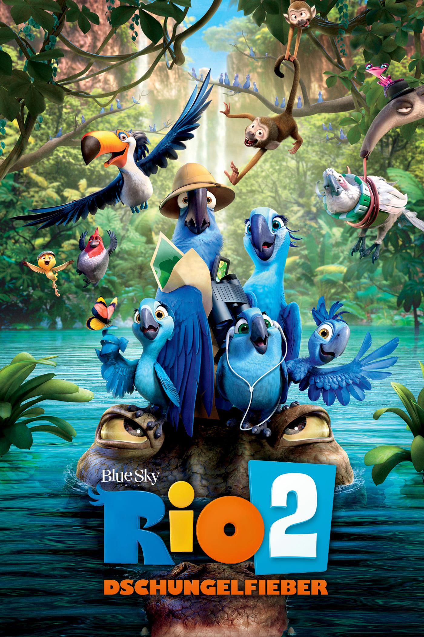 """Plakat von """"Rio 2 - Dschungelfieber"""""""