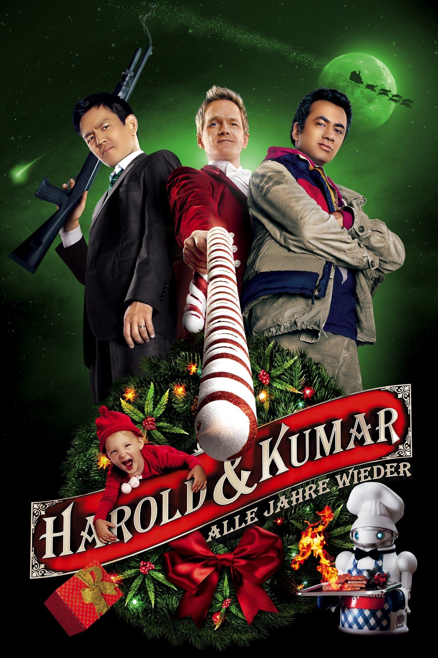 """Plakat von """"Harold & Kumar - Alle Jahre wieder"""""""
