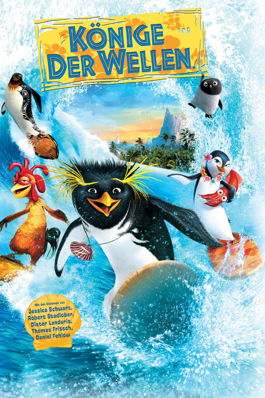 """Plakat von """"Könige der Wellen"""""""