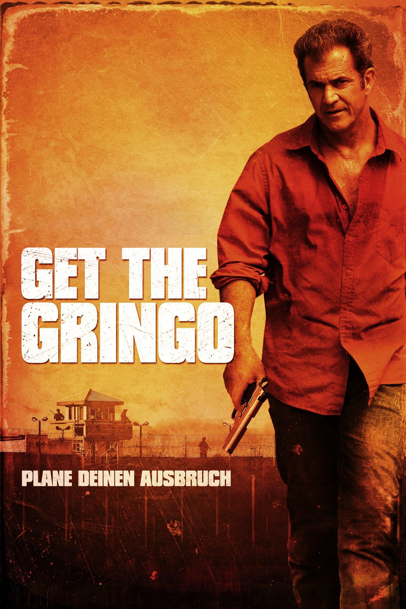 """Plakat von """"Get the Gringo"""""""