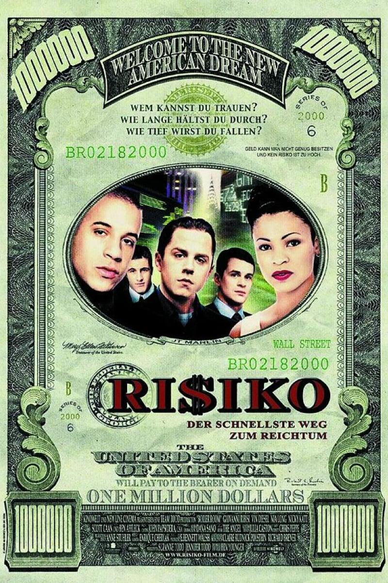 """Plakat von """"Ri$iko - Der schnellste Weg zum Reichtum"""""""