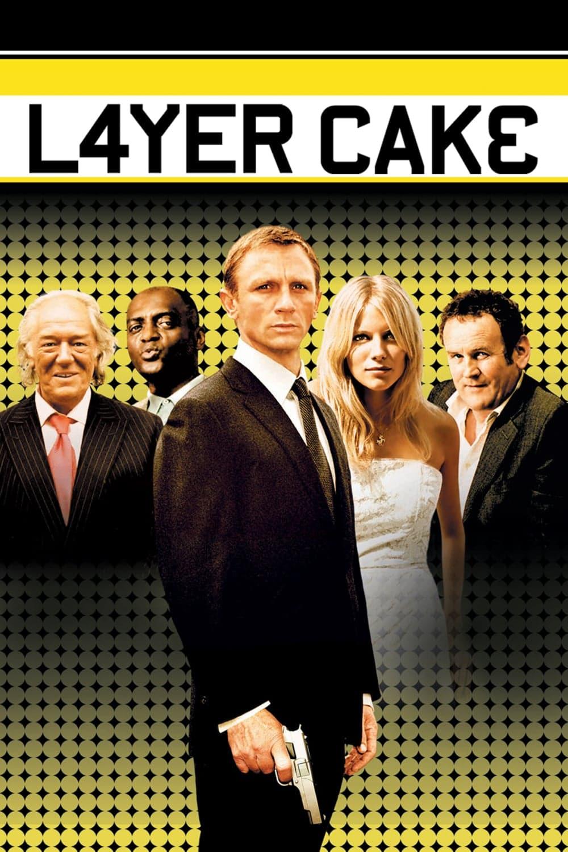 """Plakat von """"Layer Cake"""""""