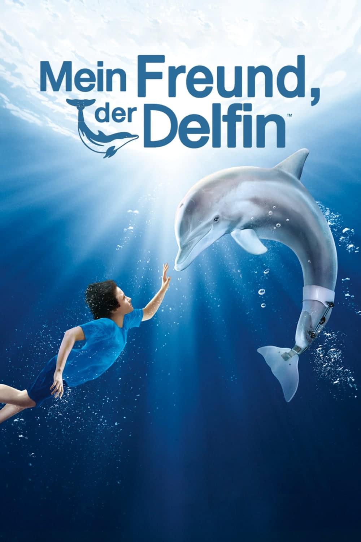 """Plakat von """"Mein Freund, der Delfin"""""""