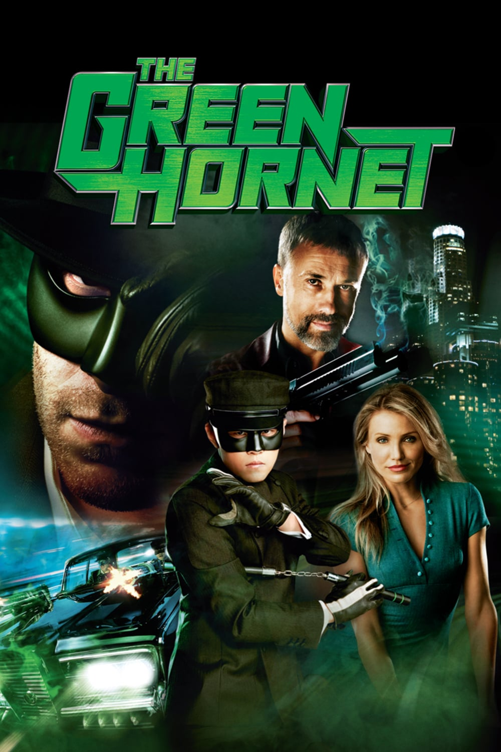 "Plakat von ""The Green Hornet"""
