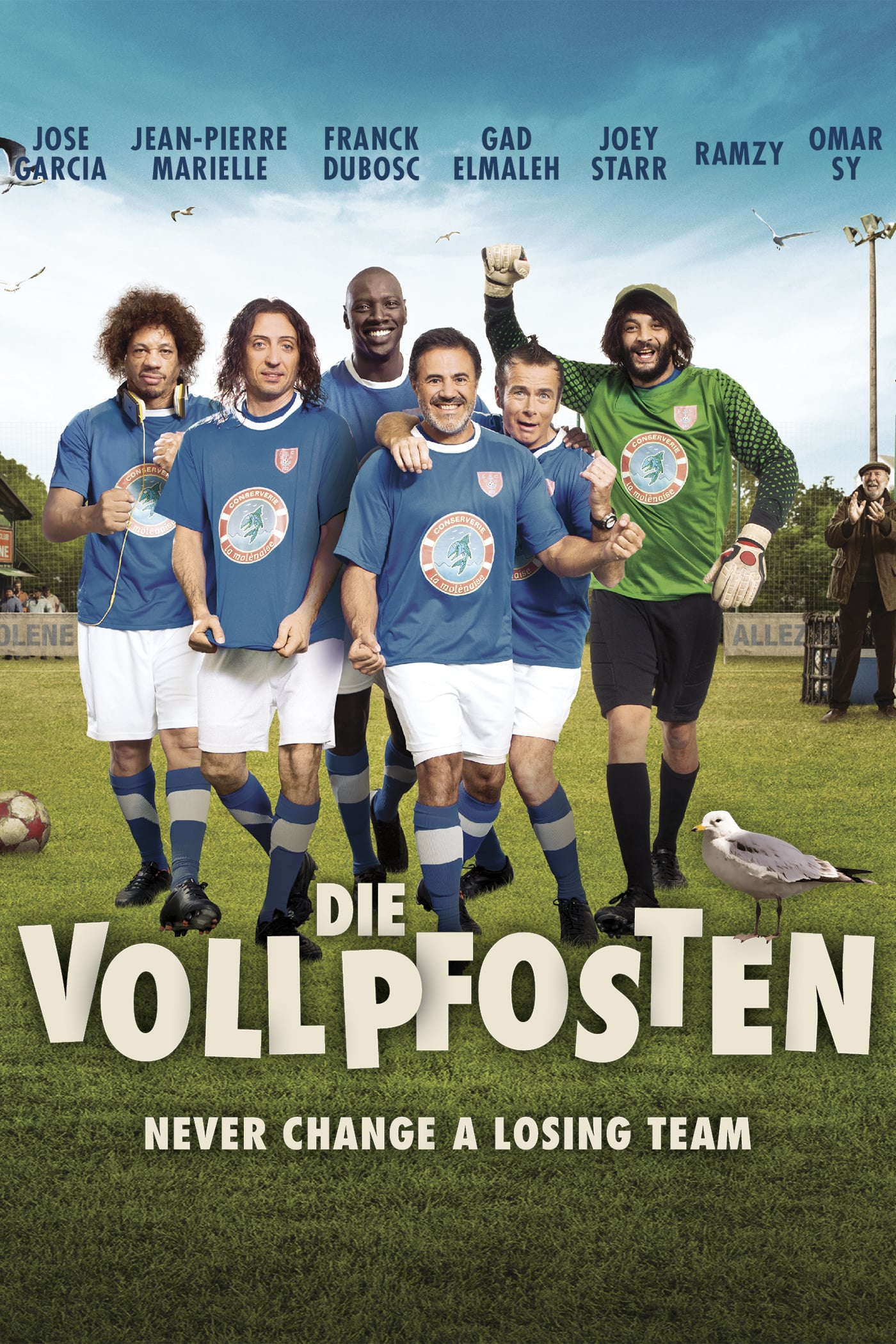 "Plakat von ""Die Vollpfosten - Never Change a Losing Team"""