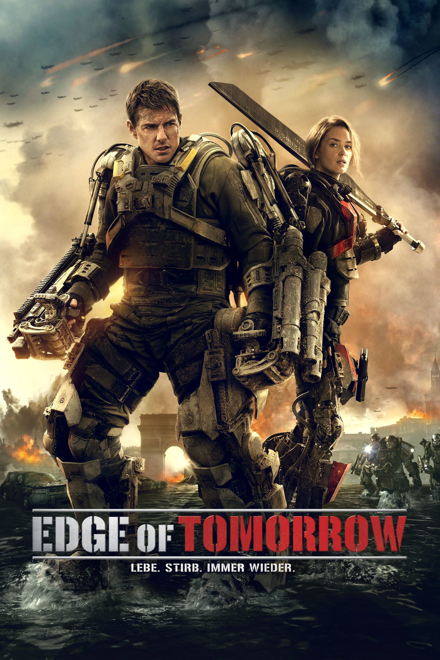 "Plakat von ""Edge of Tomorrow"""