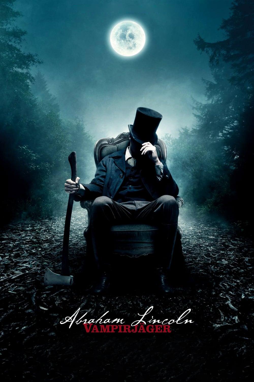 """Plakat von """"Abraham Lincoln - Vampirjäger"""""""