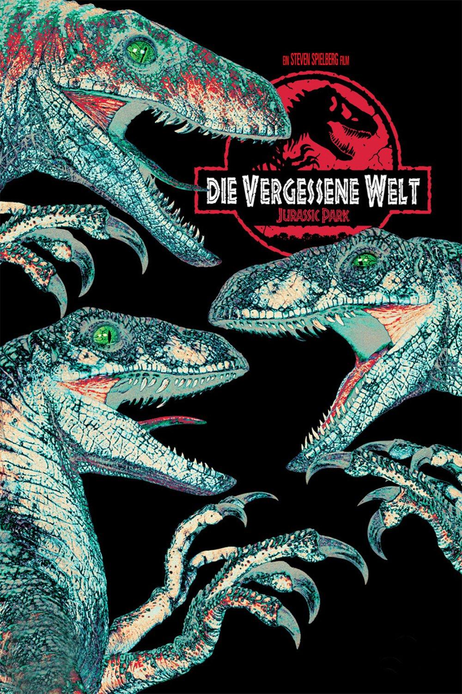 """Plakat von """"Vergessene Welt: Jurassic Park"""""""