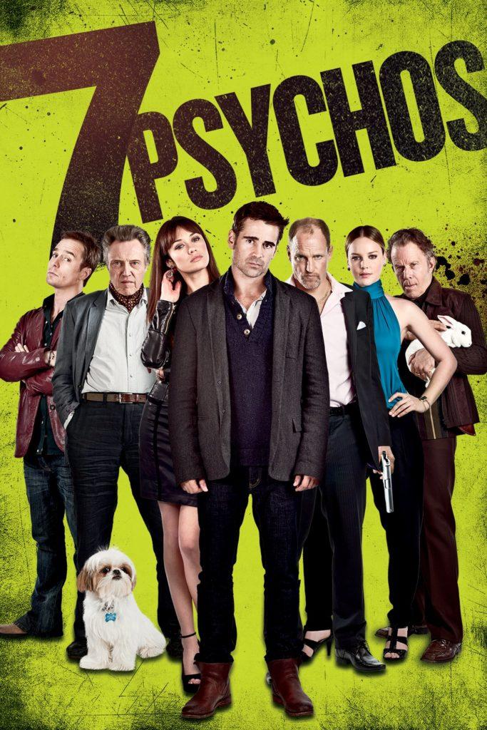 """Plakat von """"7 Psychos"""""""