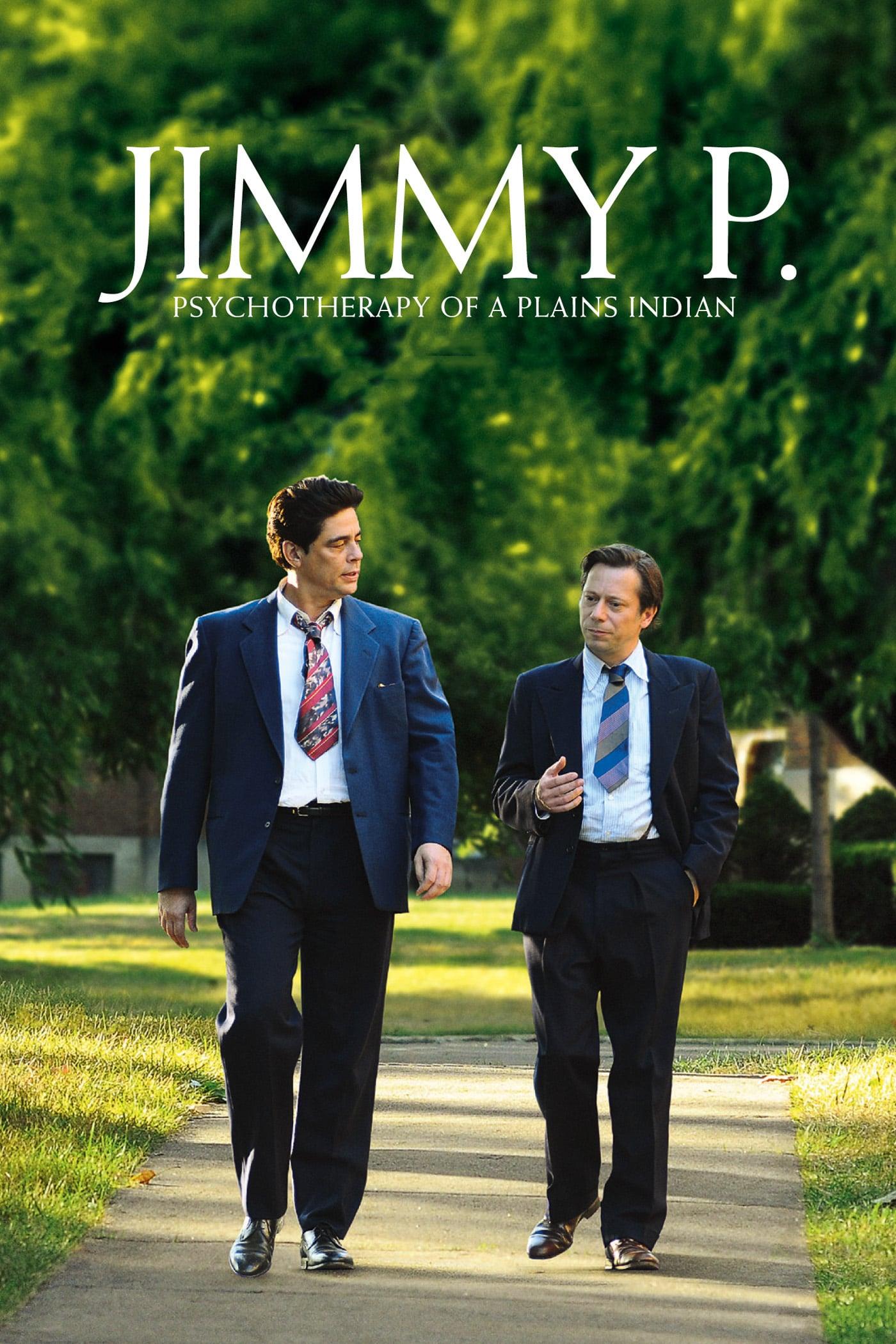 """Plakat von """"Jimmy P. – Psychotherapie eines Indianers"""""""