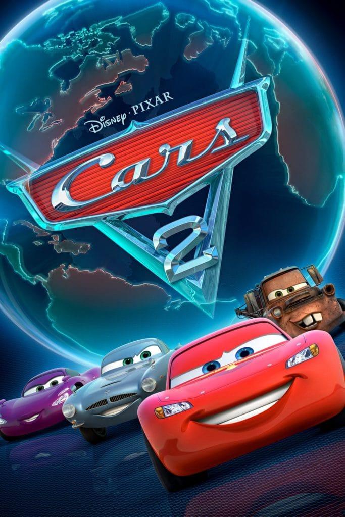 """Plakat von """"Cars 2"""""""