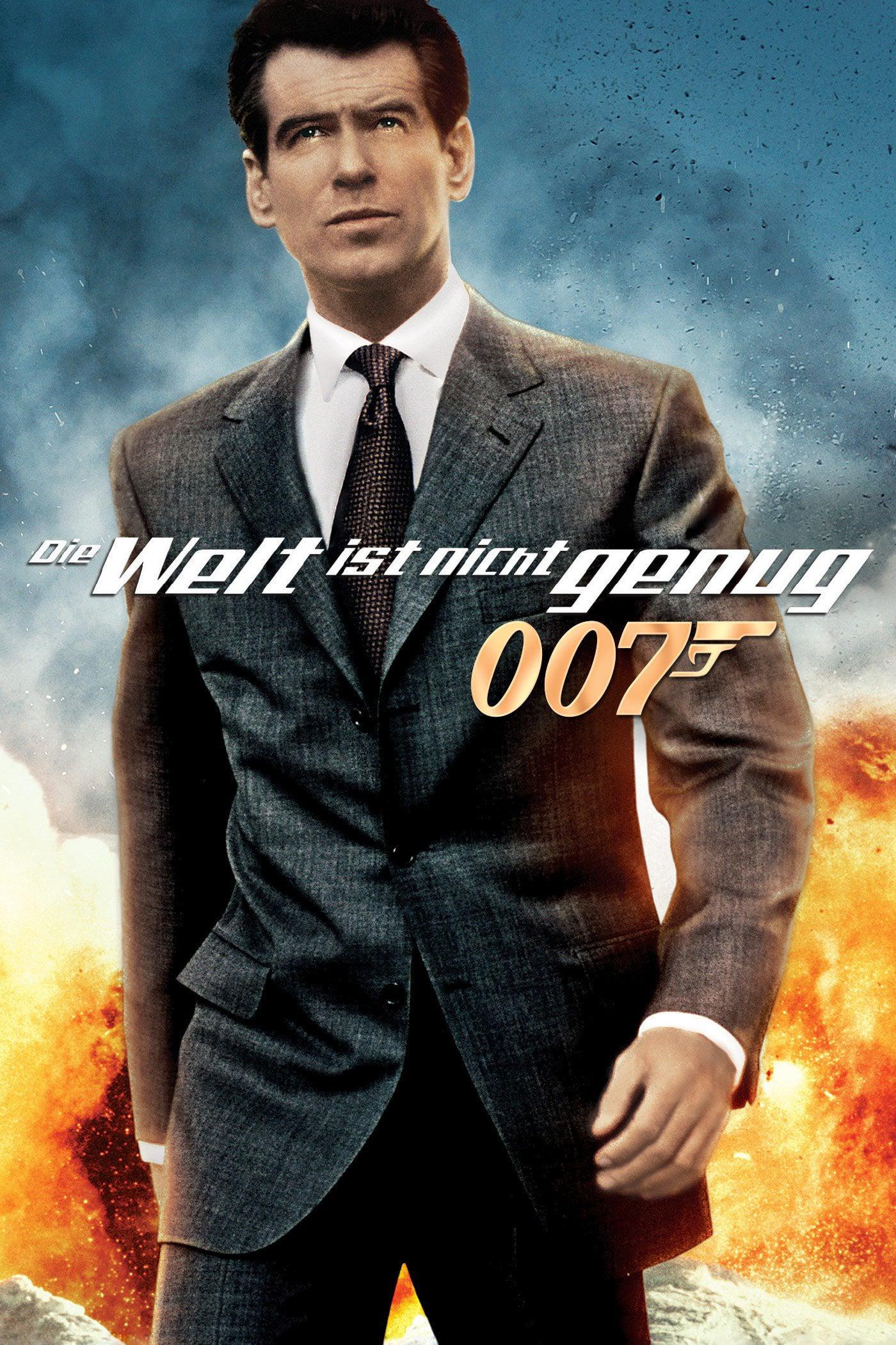 """Plakat von """"James Bond 007 - Die Welt ist nicht genug"""""""