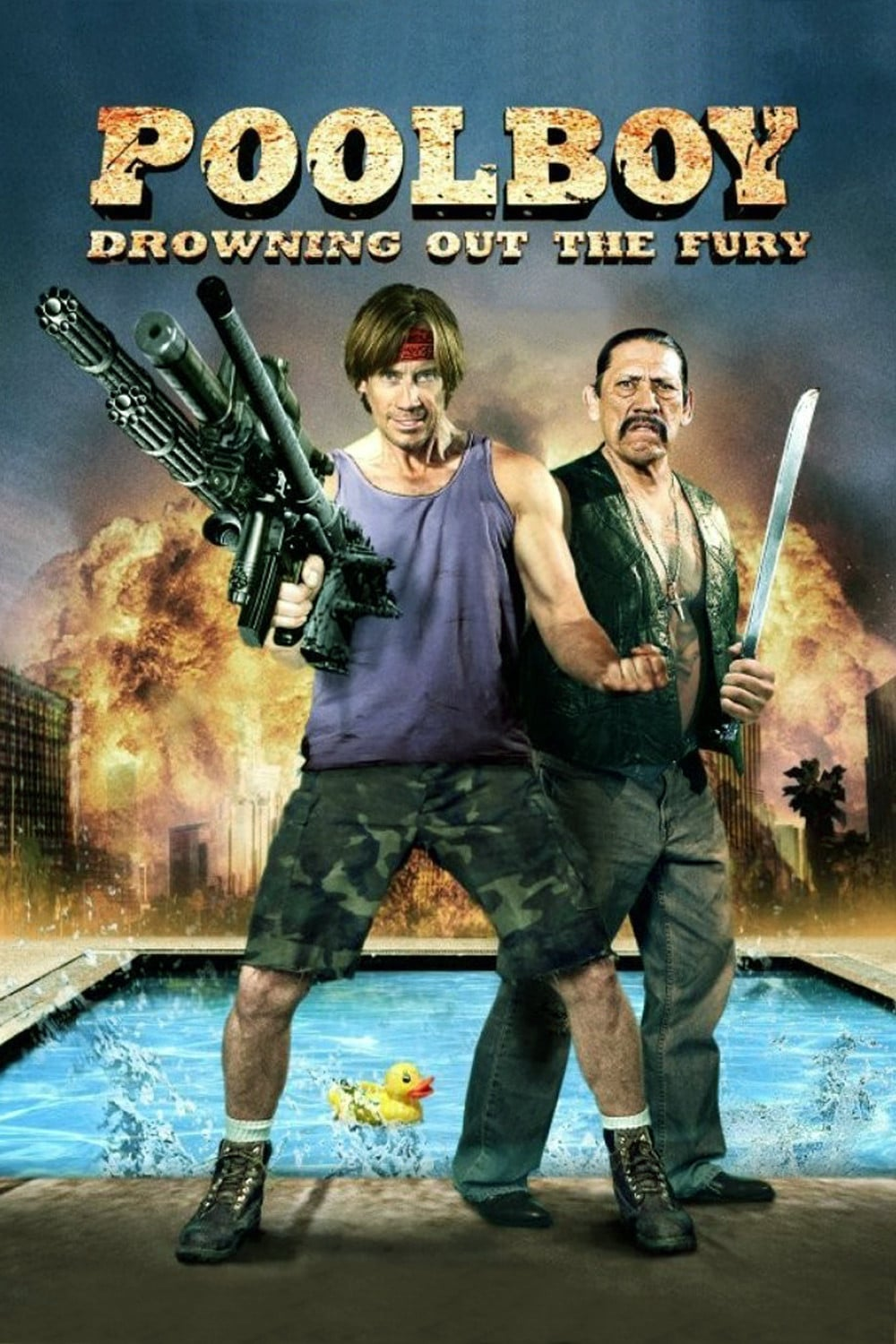 """Plakat von """"Poolboy - Drowning Out the Fury"""""""