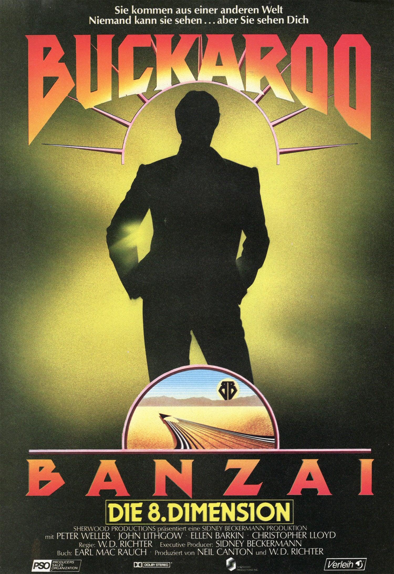 """Plakat von """"Buckaroo Banzai - Die 8. Dimension"""""""