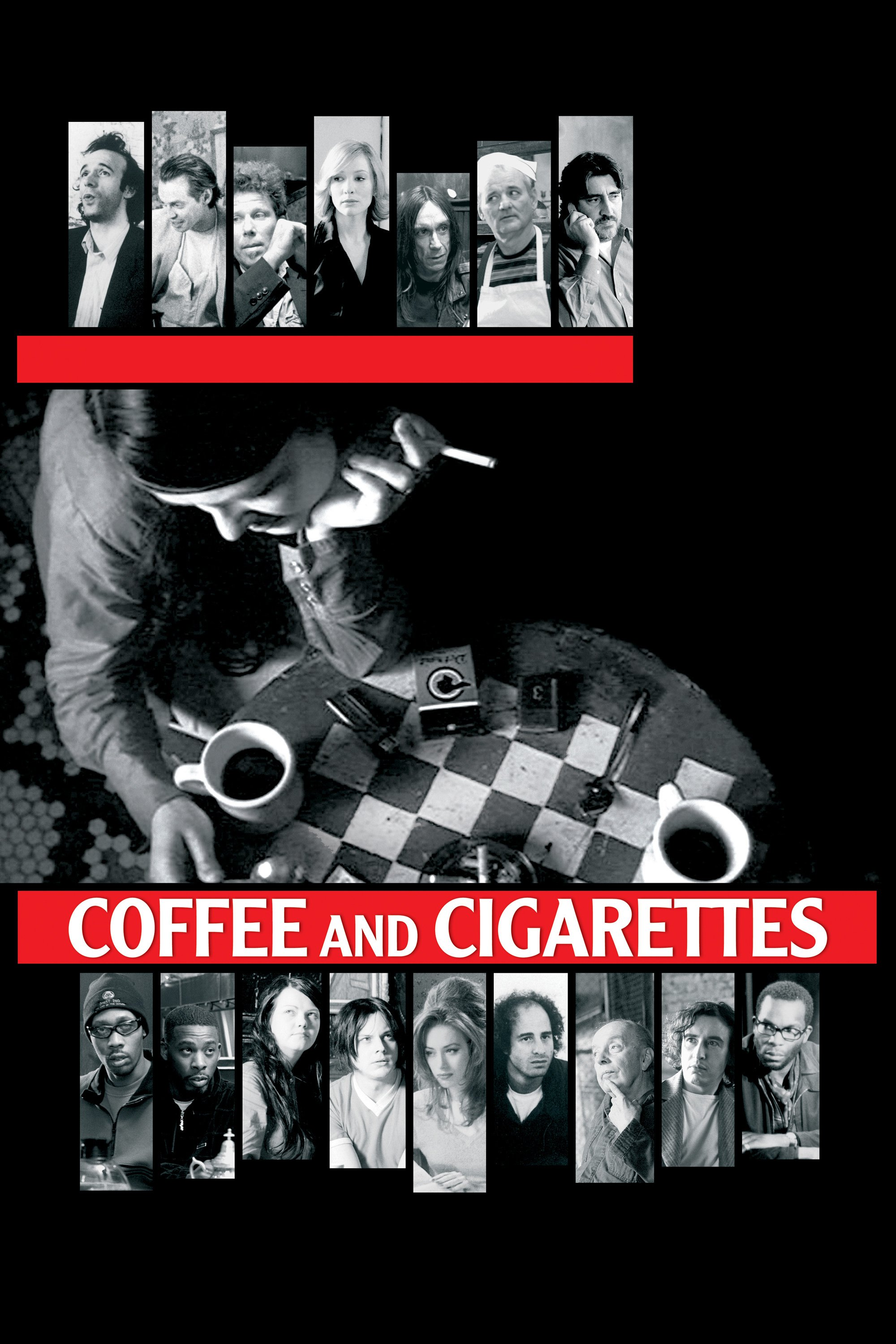"Plakat von ""Coffee and Cigarettes"""