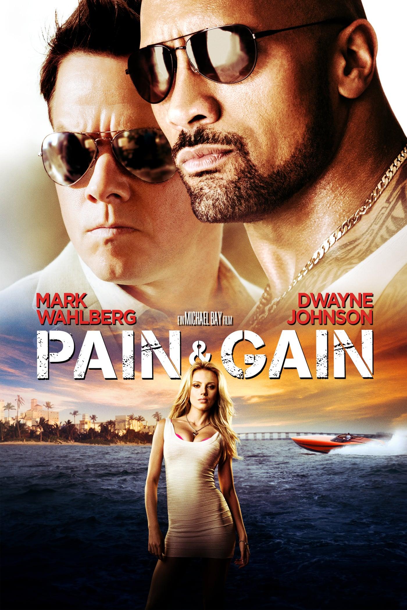 """Plakat von """"Pain & Gain"""""""