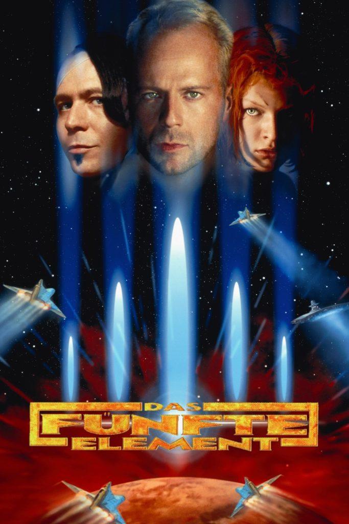 """Plakat von """"Das fünfte Element"""""""