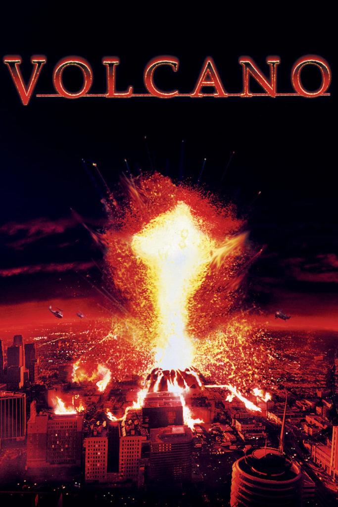 """Plakat von """"Volcano - Heisser als die Hölle"""""""