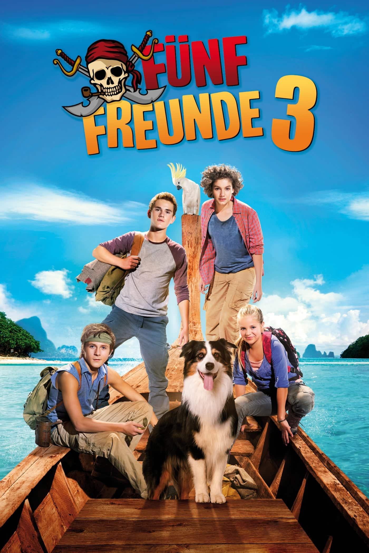 """Plakat von """"Fünf Freunde 3"""""""