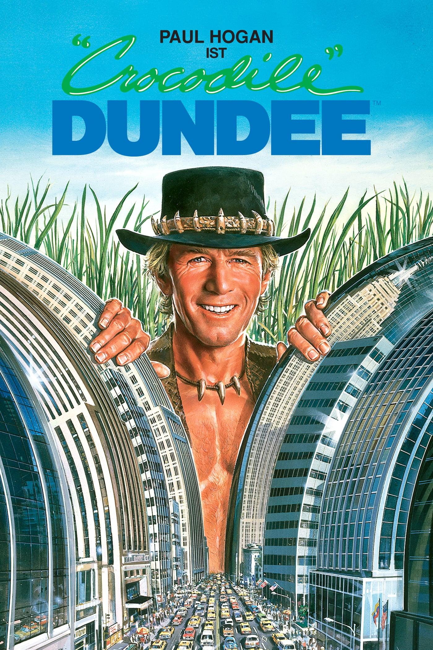 """Plakat von """"Crocodile Dundee - Ein Krokodil zum Küssen"""""""