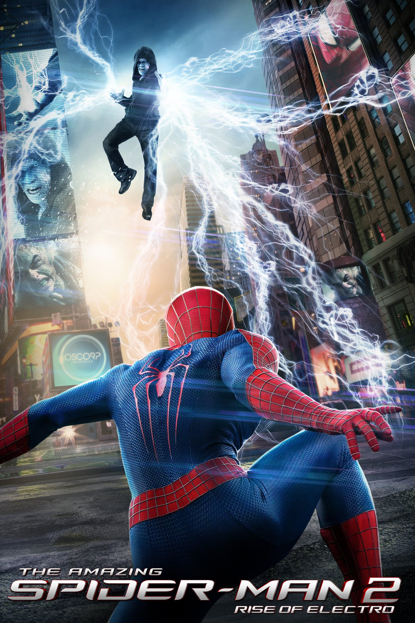 "Plakat von ""The Amazing Spider-Man 2: Rise of Electro"""