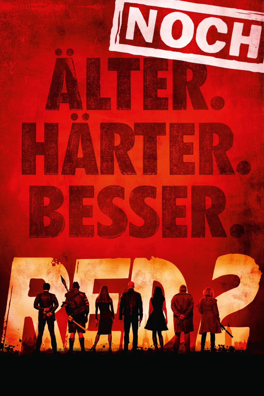 "Plakat von ""R.E.D. 2 - Noch Älter. Härter. Besser."""