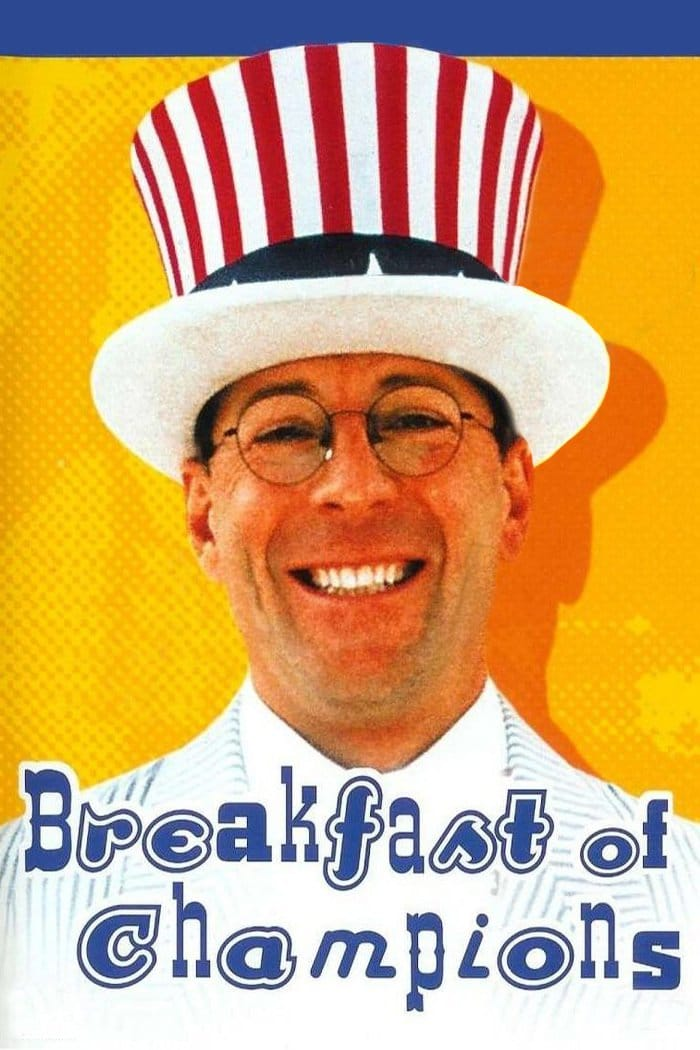 """Plakat von """"Breakfast of Champions - Frühstück für Helden"""""""