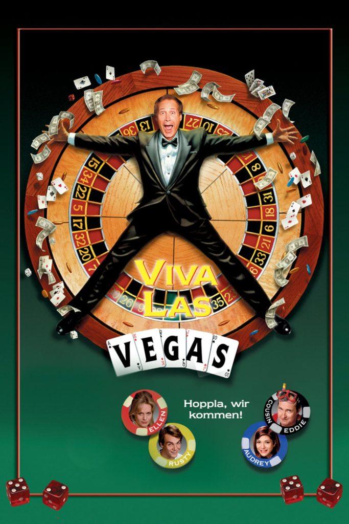"""Plakat von """"Die schrillen Vier in Las Vegas"""""""