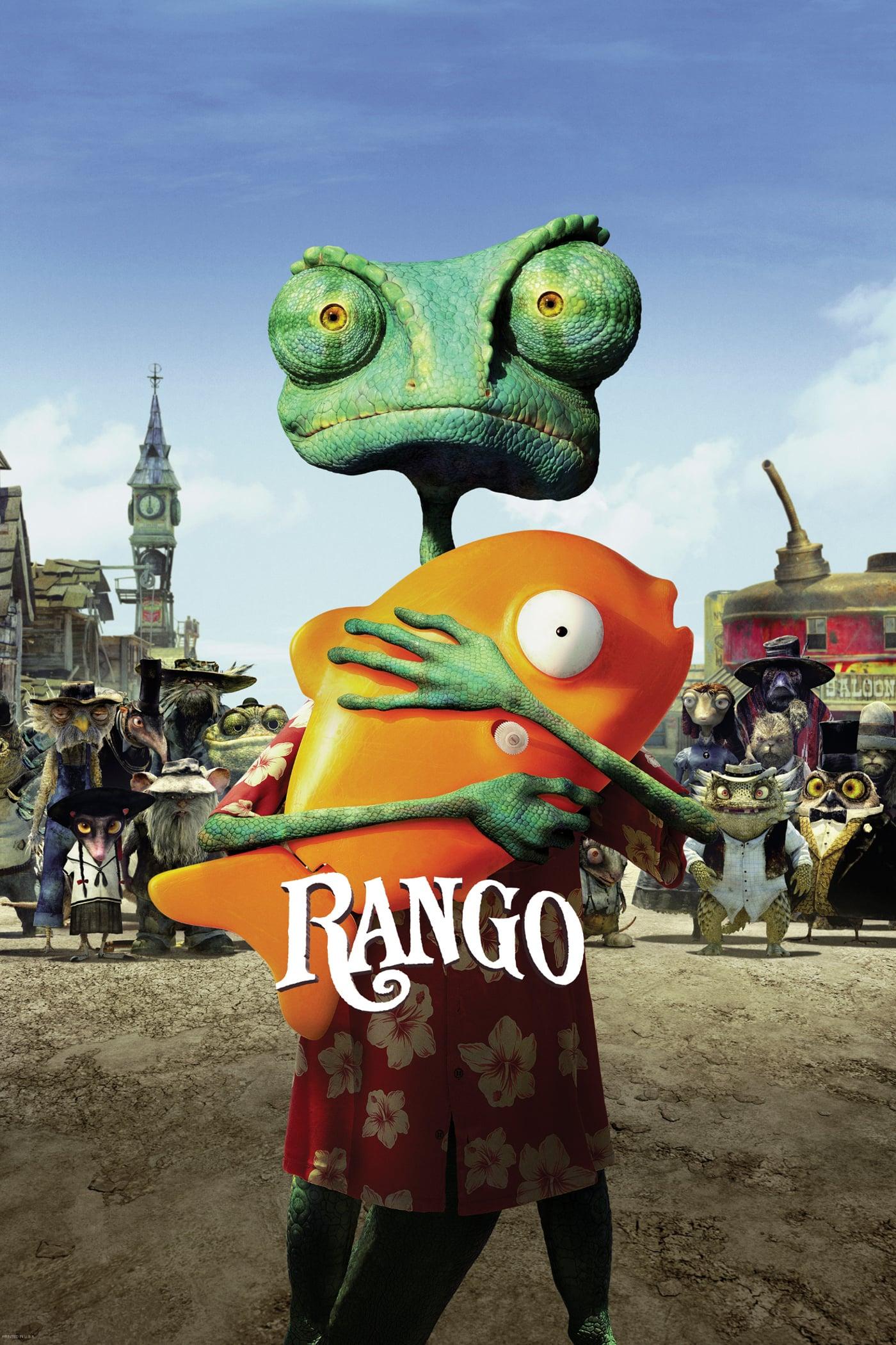 """Plakat von """"Rango"""""""