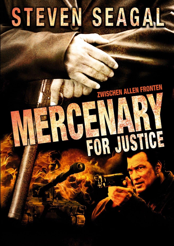 "Plakat von ""Mercenary for Justice"""