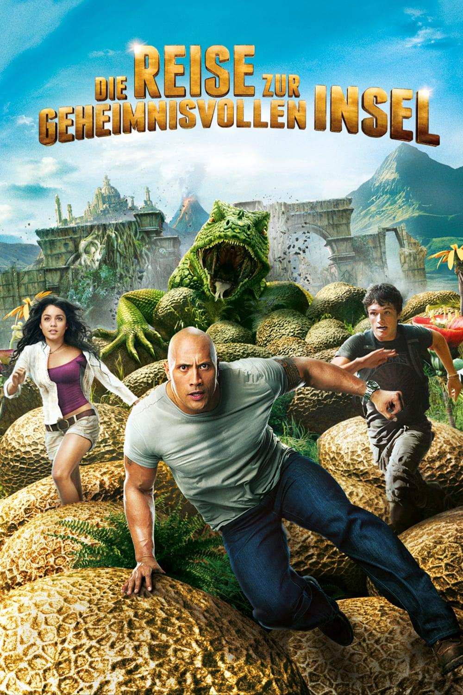 """Plakat von """"Die Reise zur geheimnisvollen Insel"""""""