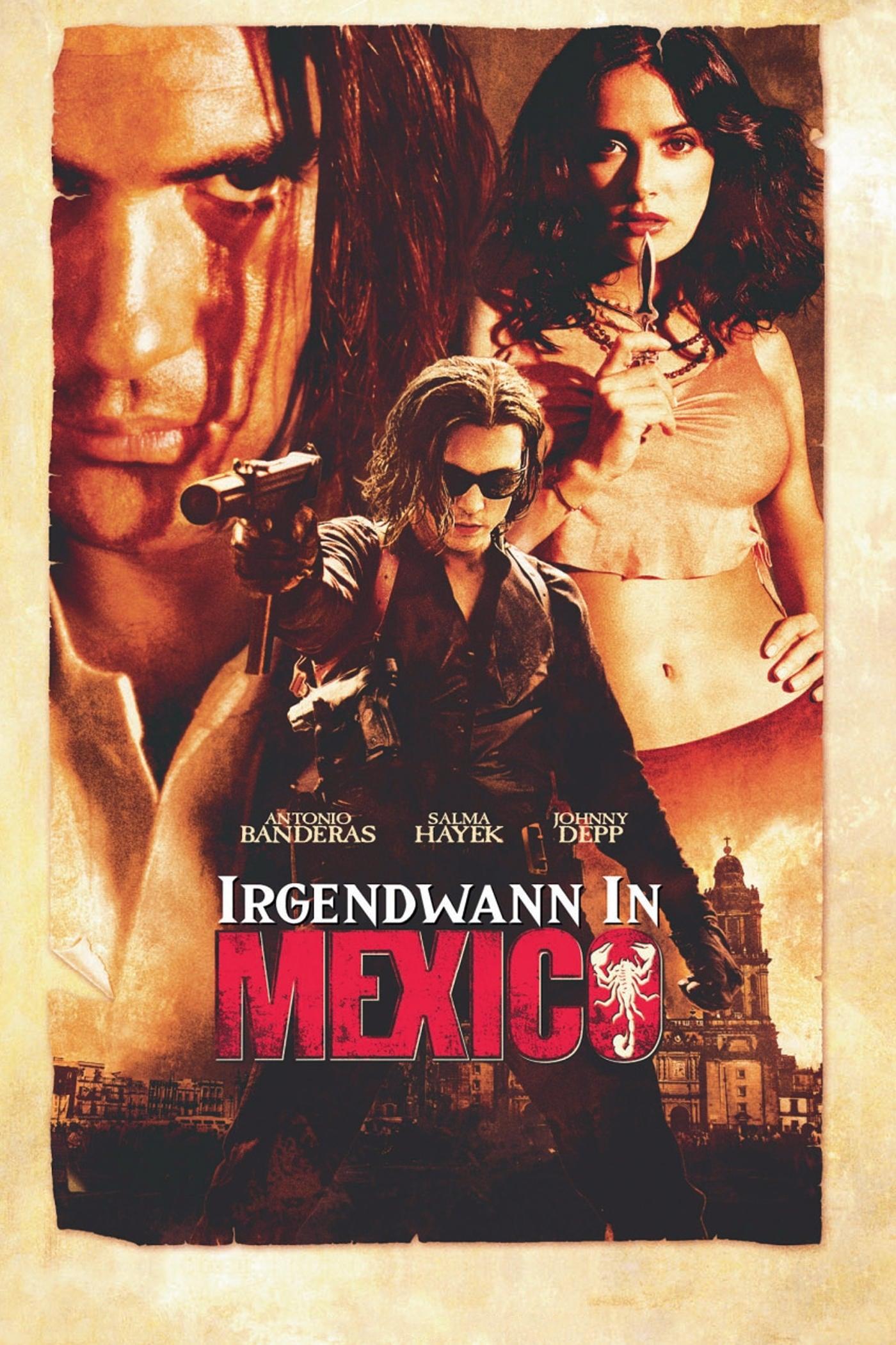 """Plakat von """"Irgendwann in Mexico"""""""