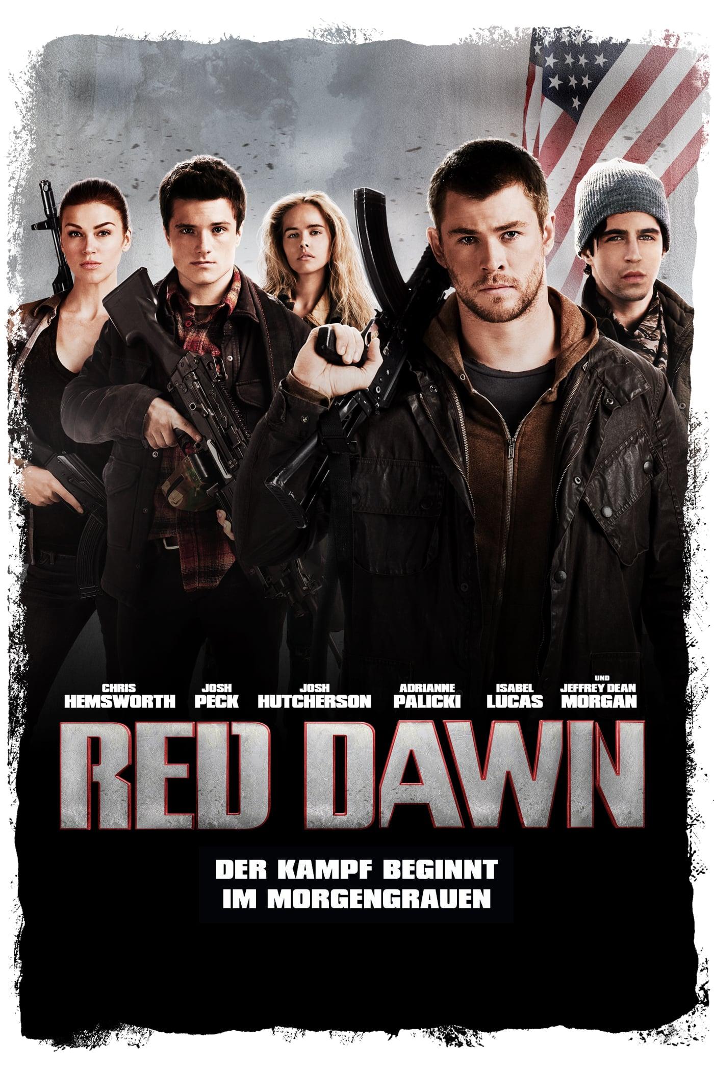 """Plakat von """"Red Dawn"""""""