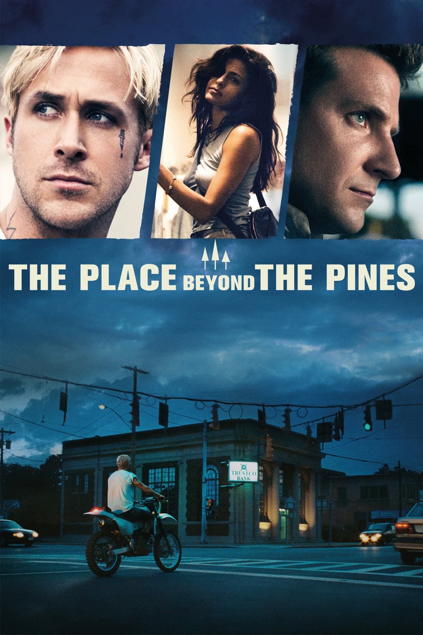 "Plakat von ""The Place Beyond the Pines"""