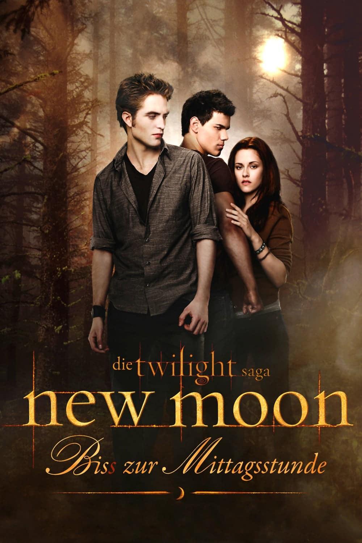 """Plakat von """"New Moon - Biss zur Mittagsstunde"""""""
