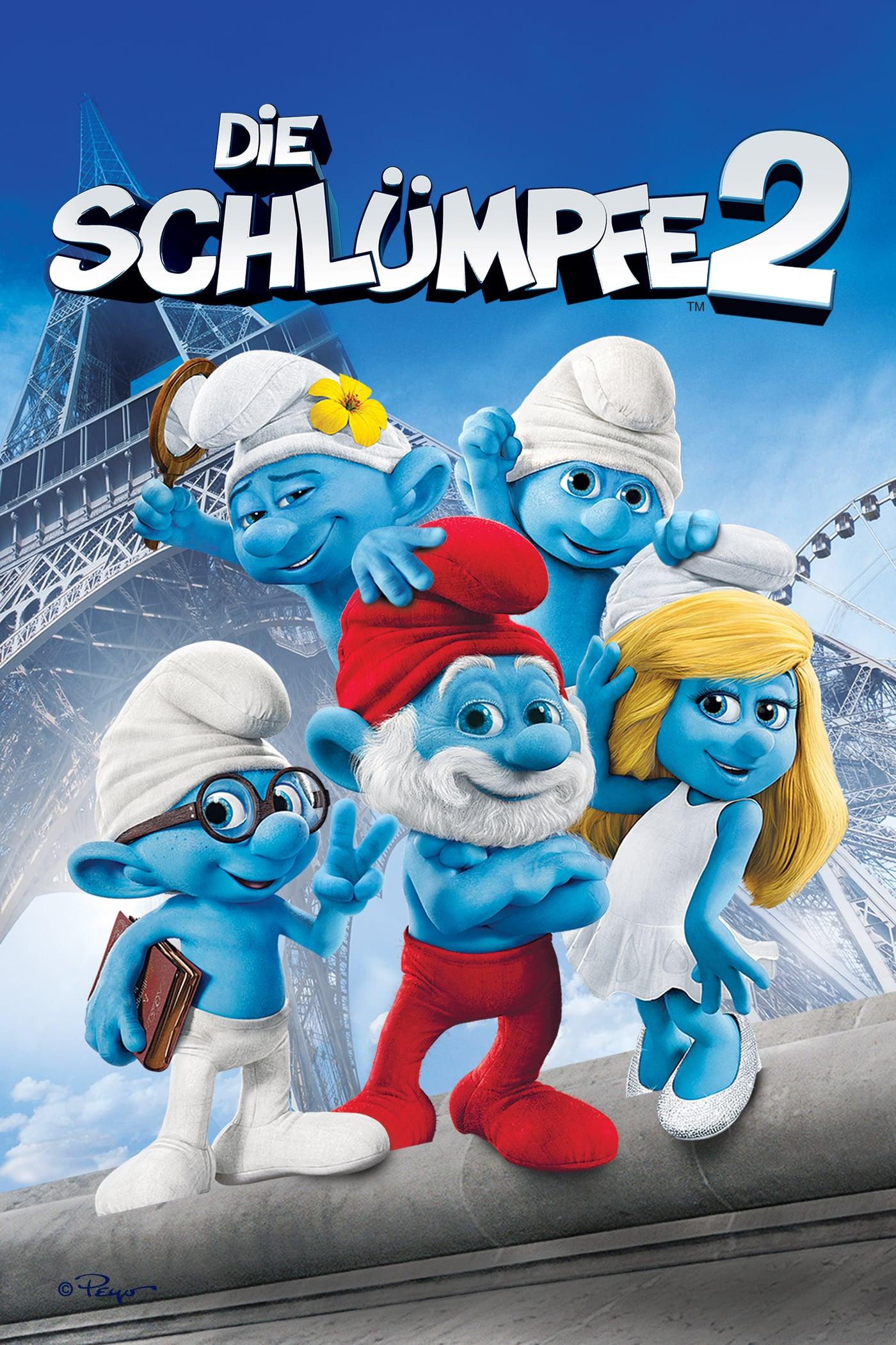 """Plakat von """"Die Schlümpfe 2"""""""