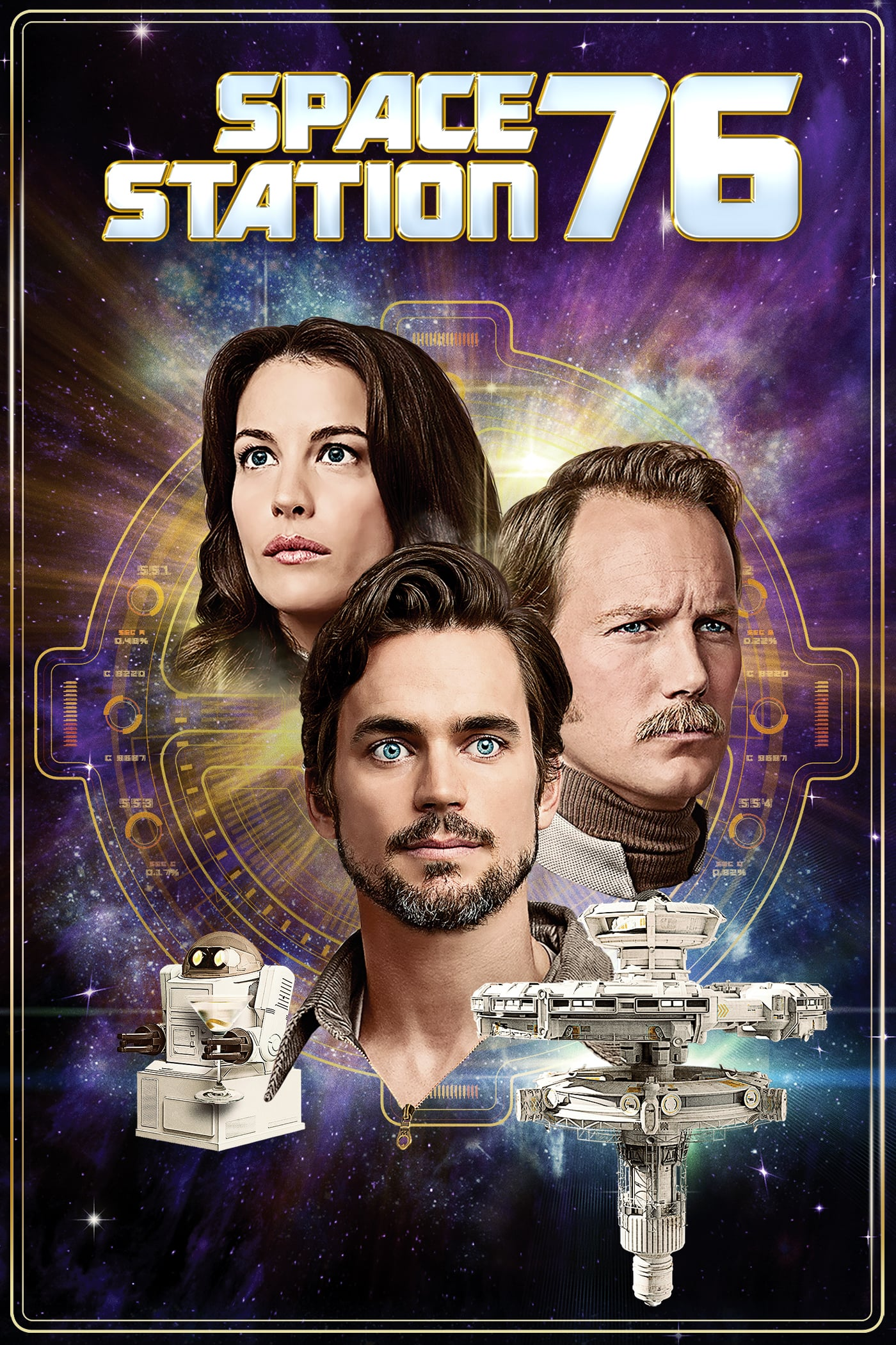 """Plakat von """"Space Station 76"""""""