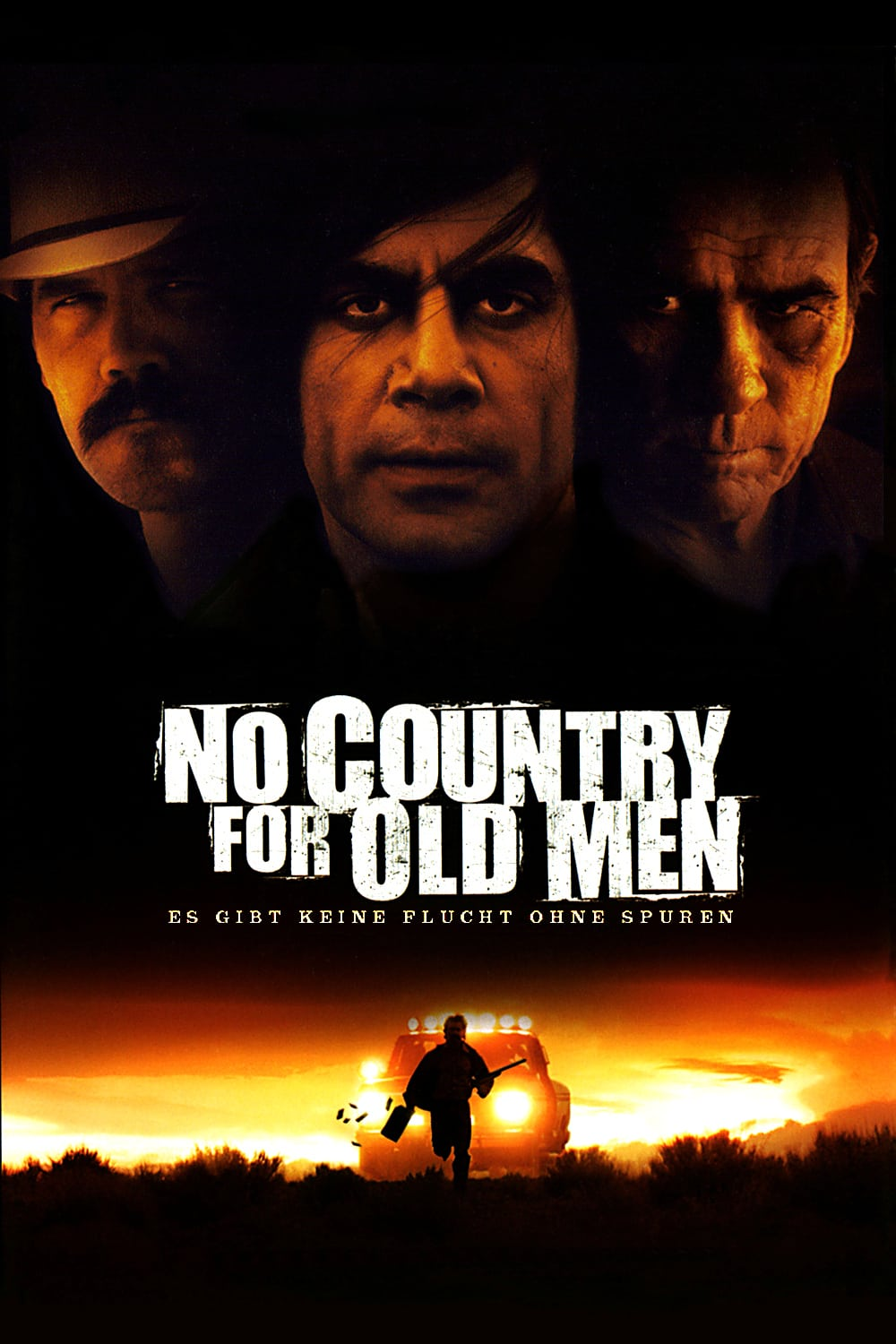 "Plakat von ""No Country for Old Men"""