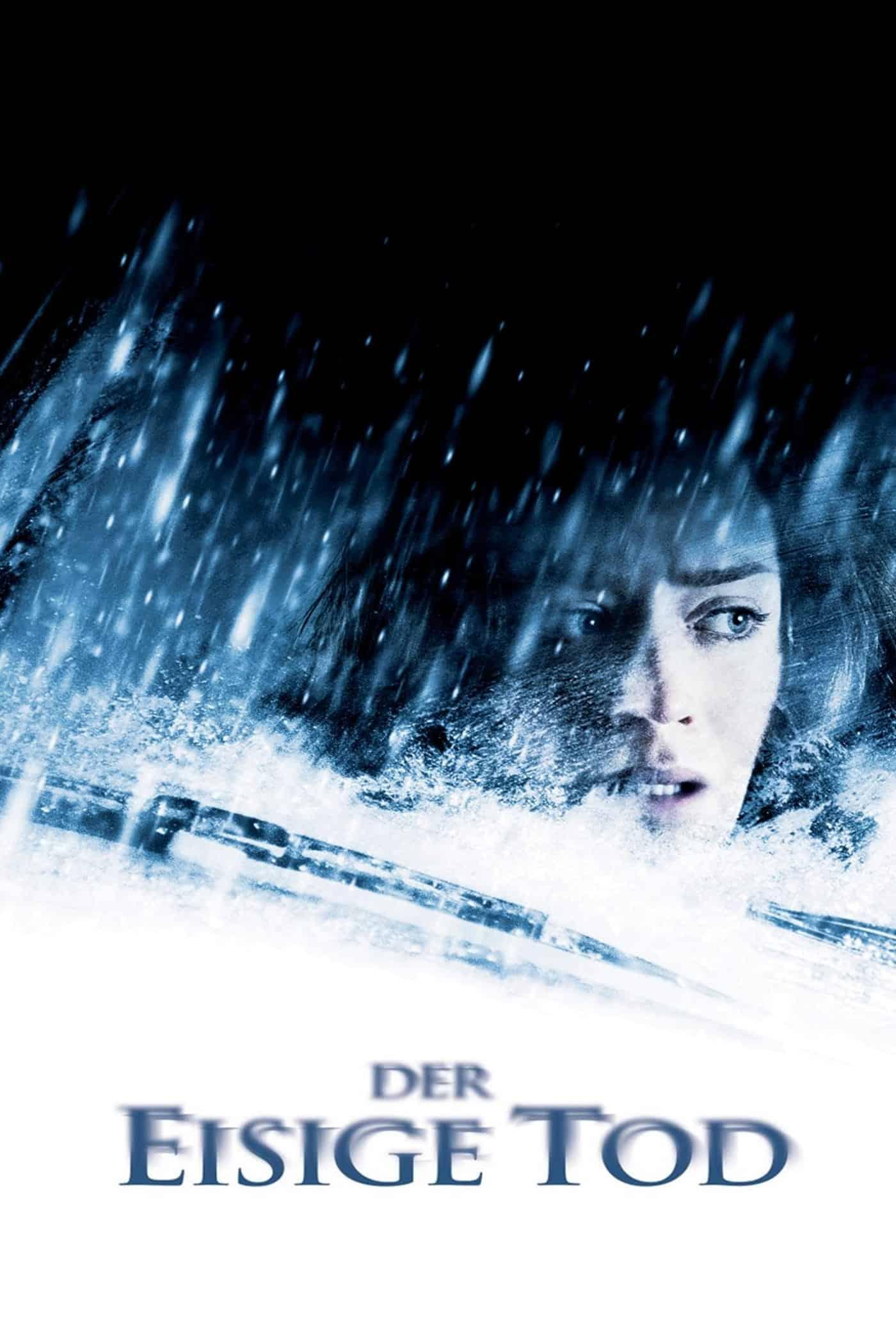"""Plakat von """"Der eisige Tod"""""""
