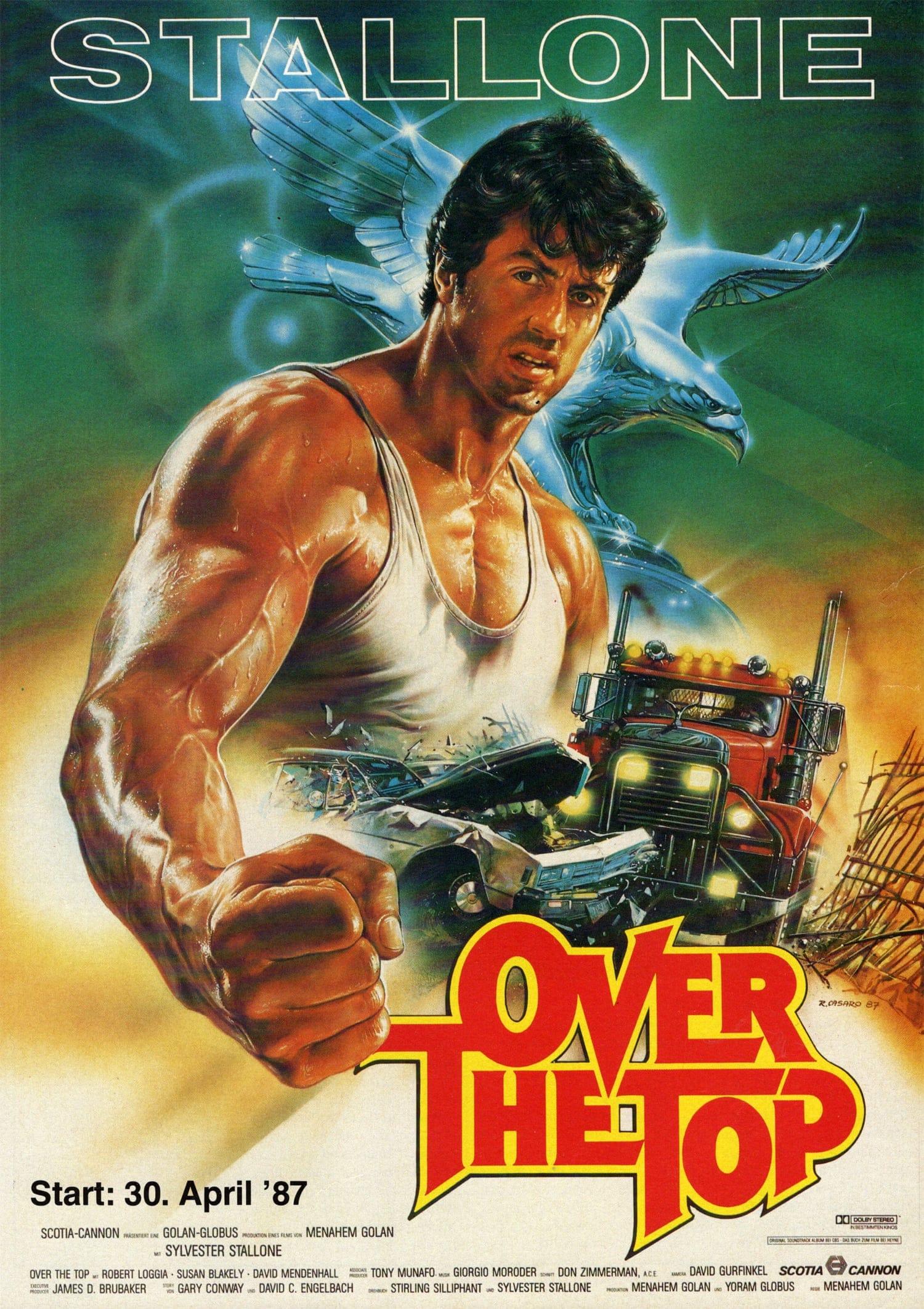 """Plakat von """"Over the Top"""""""