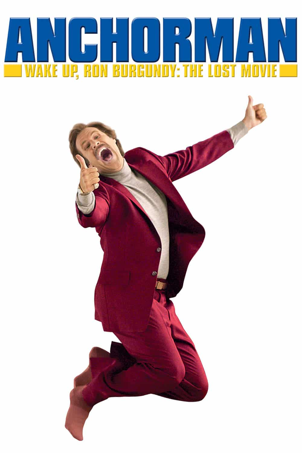 "Plakat von ""Wake Up, Ron Burgundy: The Lost Movie"""