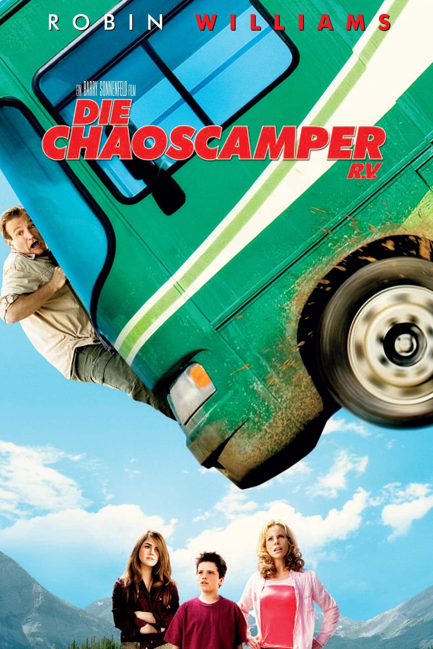 """Plakat von """"Die Chaoscamper"""""""