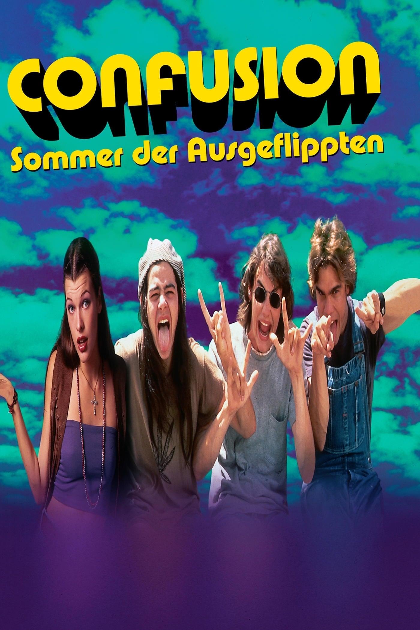 """Plakat von """"Confusion - Sommer der Ausgeflippten"""""""