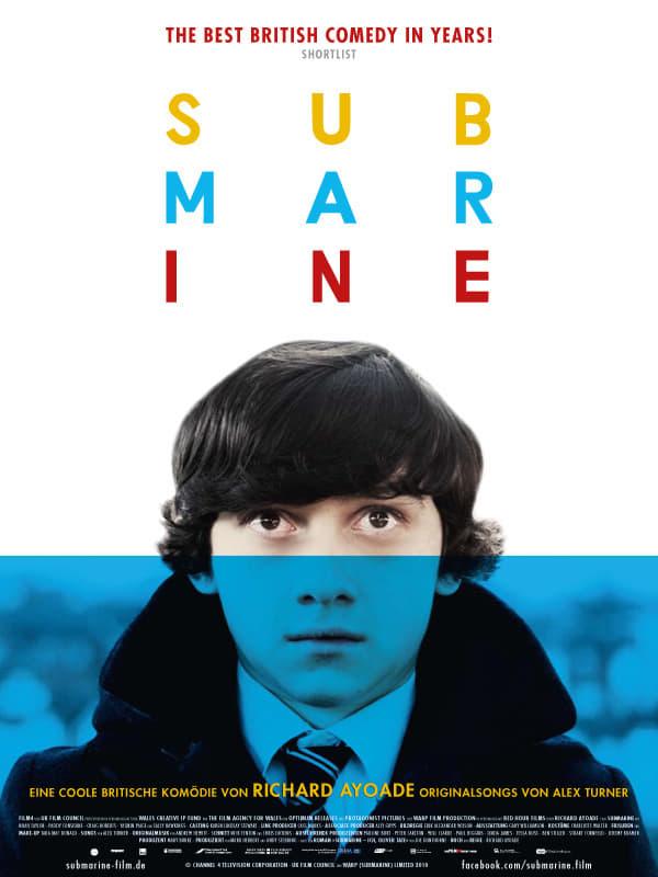 """Plakat von """"Submarine"""""""